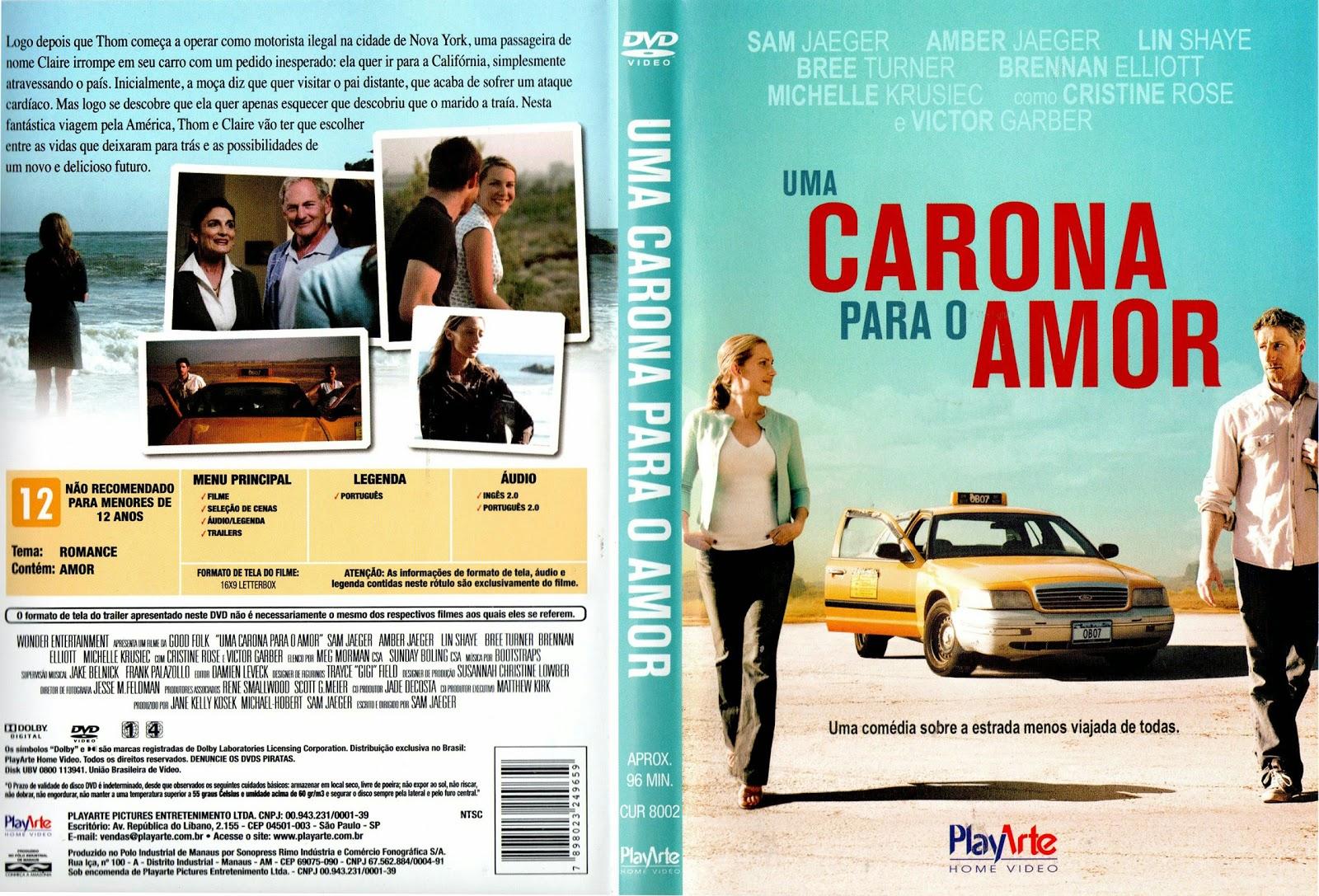 Capa DVD Carona Para O Amor