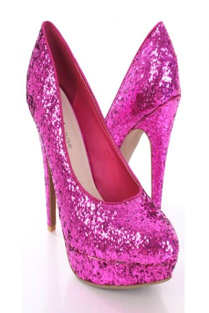 High Top High Heels Shoes