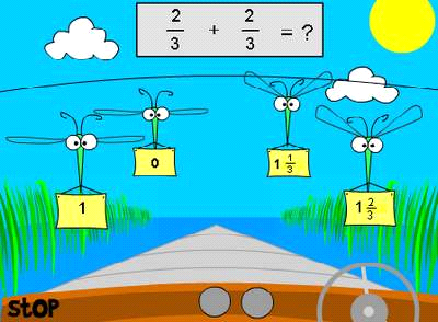 http://www.softschools.com/math/games/fractions_subtraction.jsp