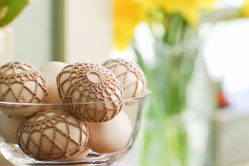 Holiday Favorites: Crocheted Easter Eggs