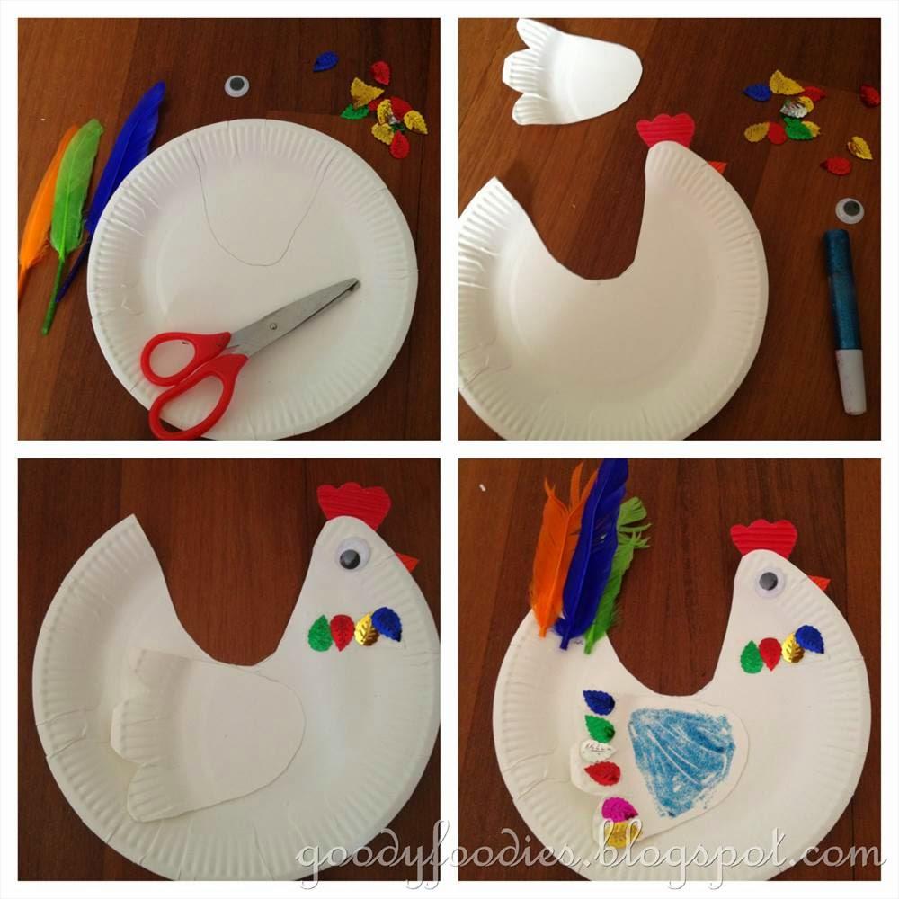 Chicken Craft Activities