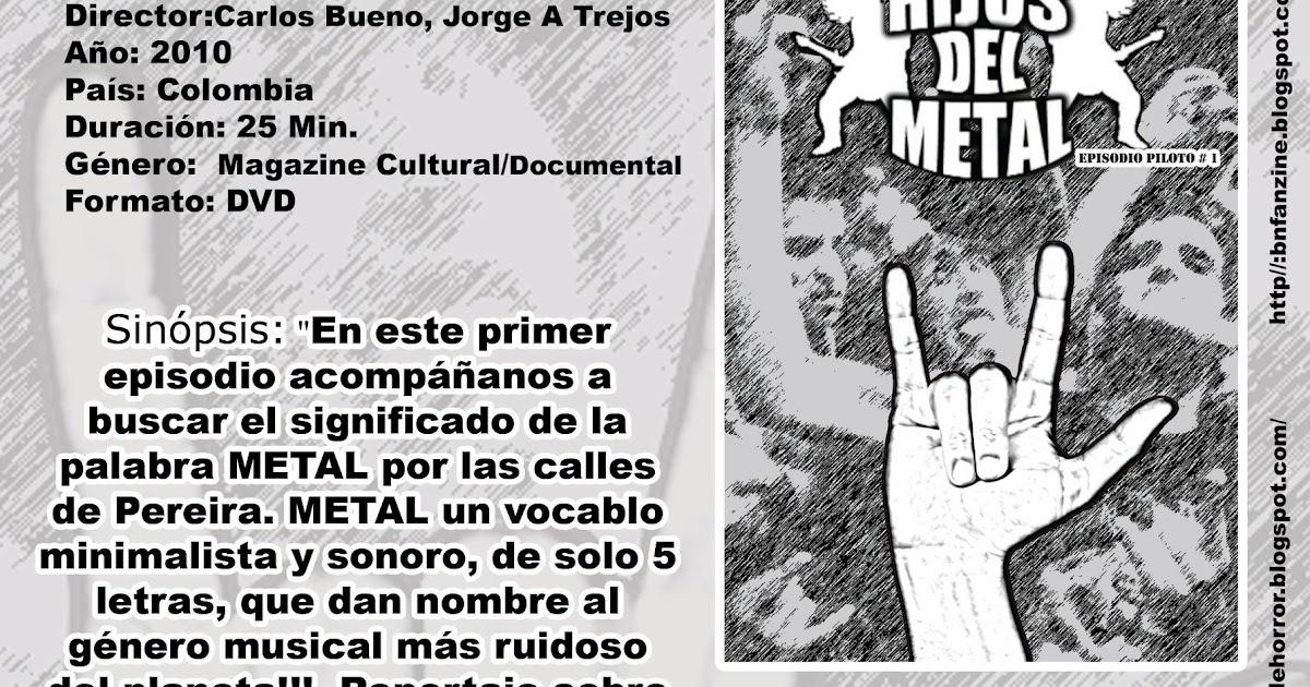 bn fanzine hijos del metal piloto de televisi n internet