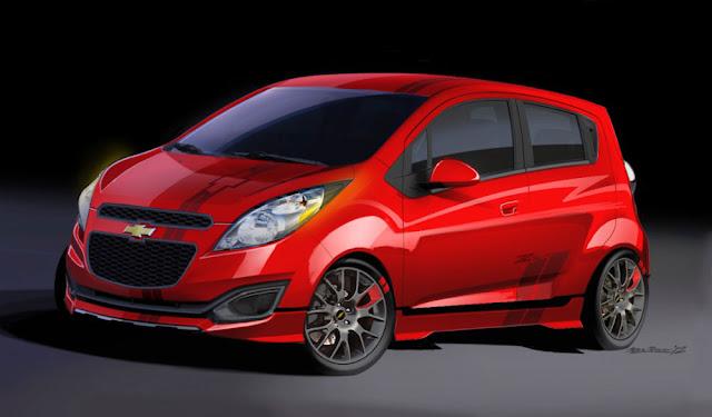 Chevrolet Spark SEMA concept