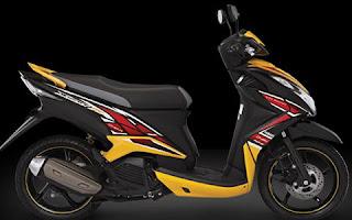 Yamaha New Xeon RC Warna Hitam (Dazzling Black)