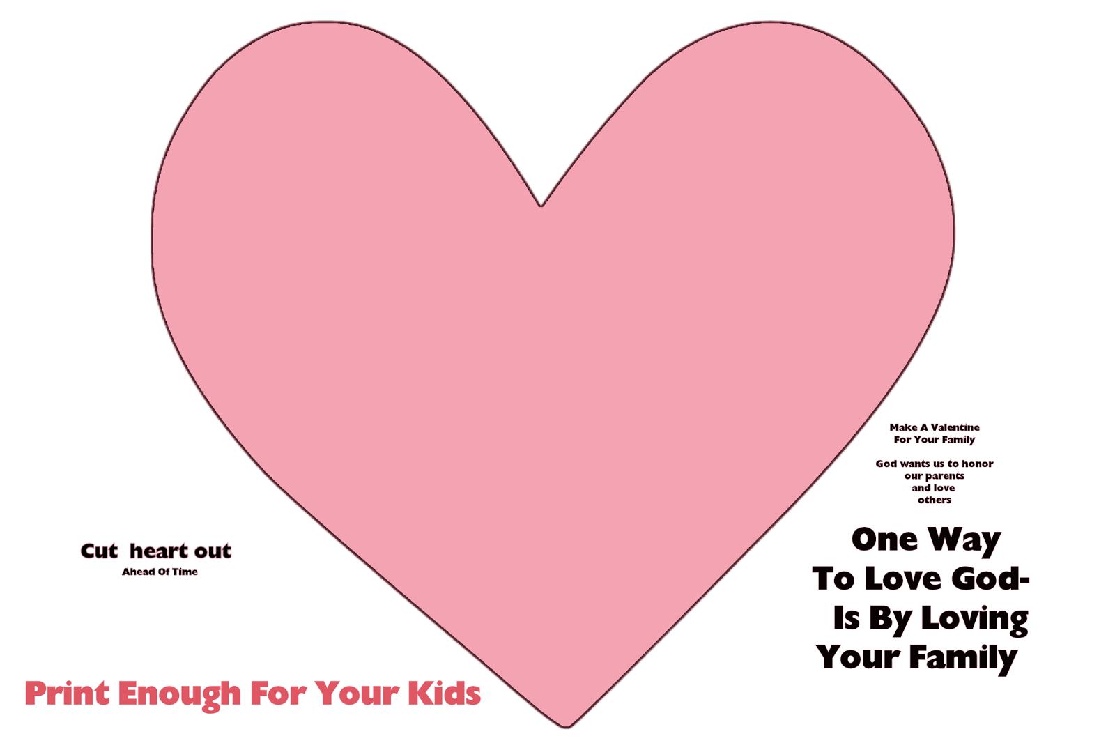 Children\'s Gems In My Treasure Box: Valentine Craft