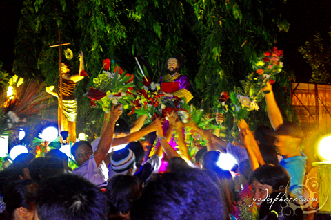 Lent procession in Torrijos Marinduque