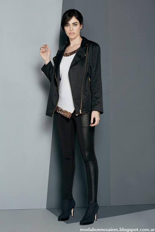 Camperas de mujer, tapados y sacos Ruben Cassin otoño invierno 2014 moda.