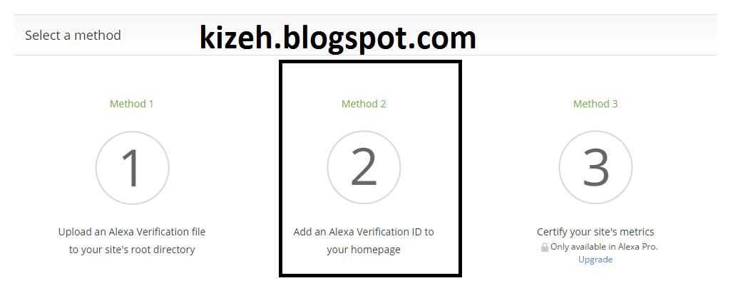Cara mudah verifikasi alexa di blog dan cara memasangnya