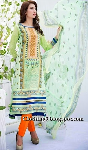 Semi Stitched Lawn 2015 Catalog