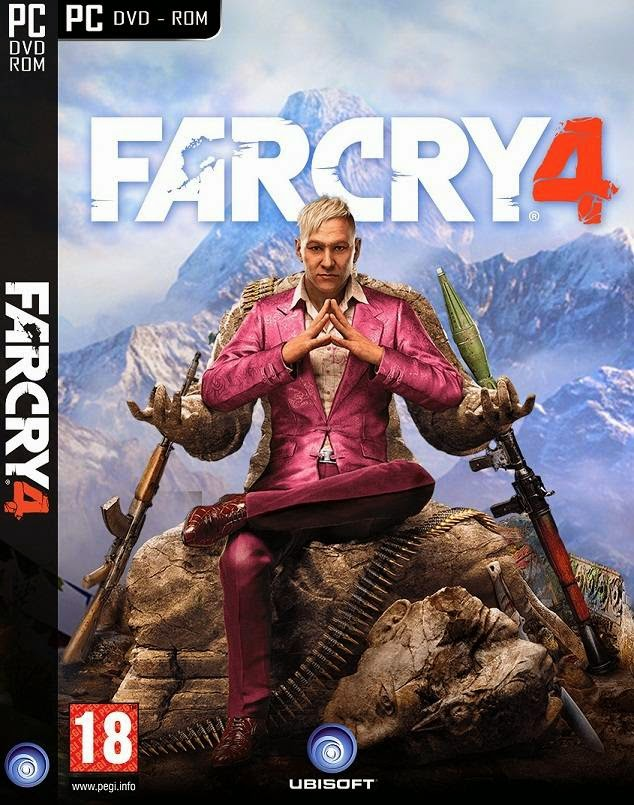 Far Cry 4 Game PC Cover