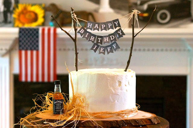 American Flag., Classic Vanilla Buttercream Frosting, Happy Birthday, Labor Day, The Best White Cake,