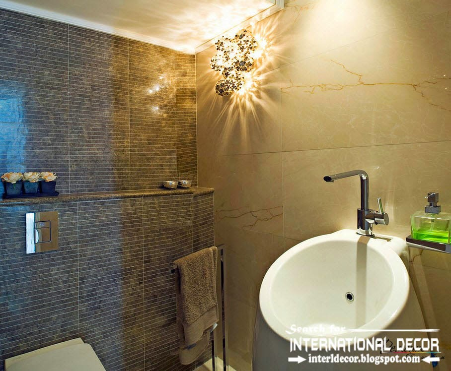 Simple Interior  Modern Bathroom Light Fixtures Modern Office Design Ideas