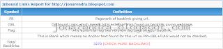 Cara Melihat Data Backlink Blog Kita atau Orang Lain