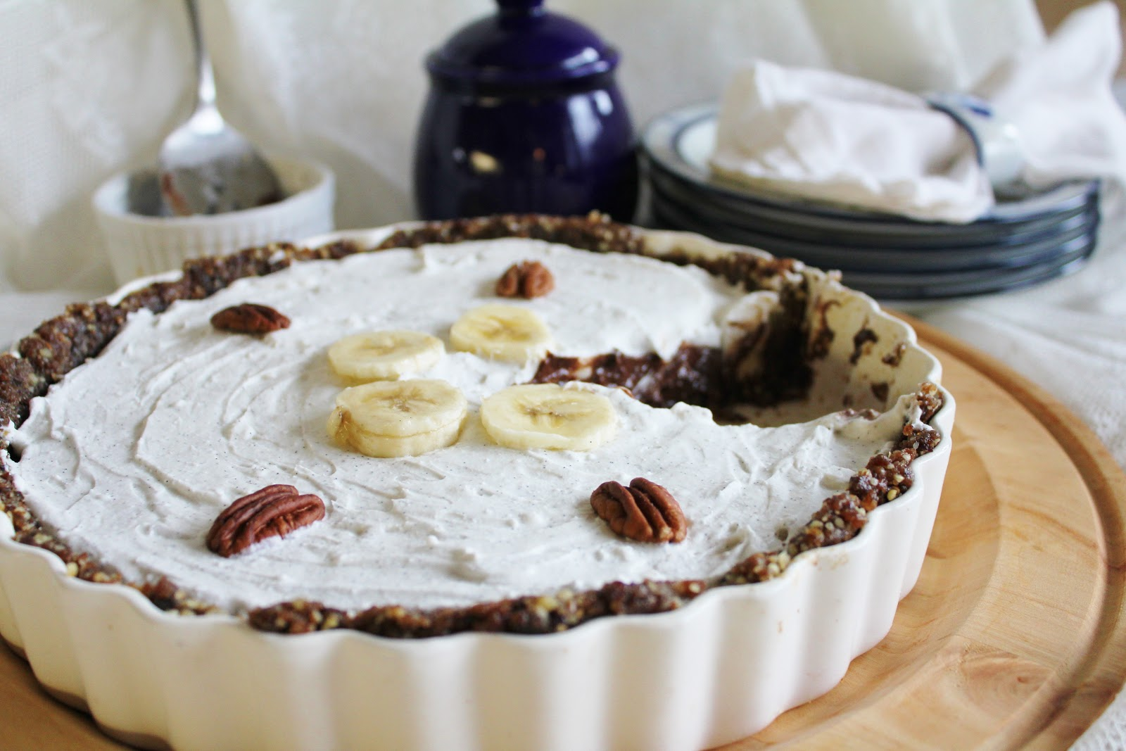 ... Rawsome Vegan Life: chocolate banana pie with coconut whipped cream