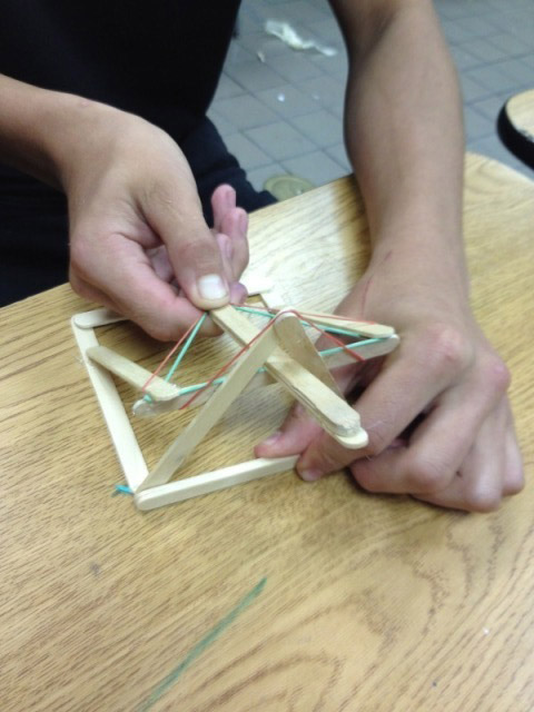 catapult design by a 7th grade student from Rachel Wintemberg on Vimeo    Medieval Times Weapons For Kids