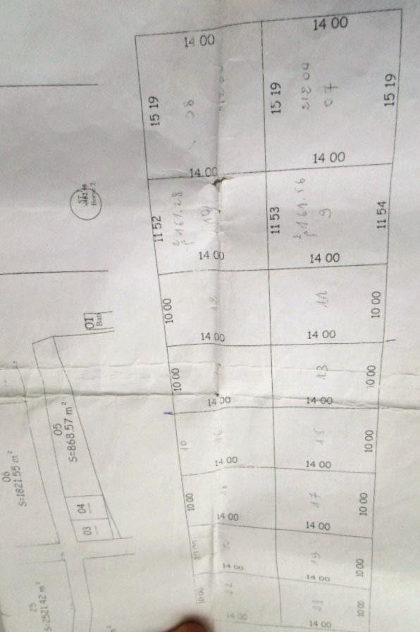Terrain à vendre sur la route nationale n °7 à Marsa Ben M'Hidi