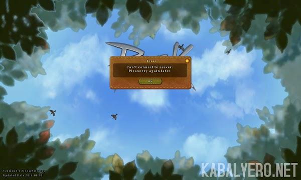 Ragnarok Online 2 Updater Stuck