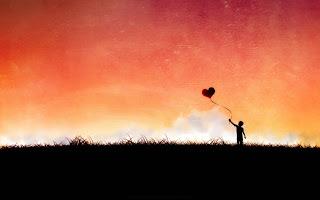 Imagen tierna de amor niños