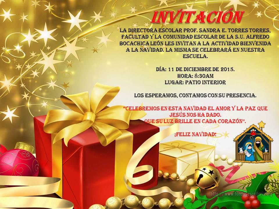 MECPA Escuela S.U. El Pino: Actividad navideña: Bienvenida a la Navidad