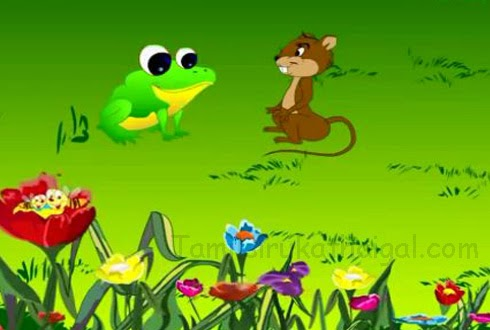 The Mouse, the Frog, and the Eagle Story in Tamil 2