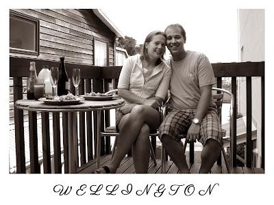 Wedding postcard and table name - Wellington