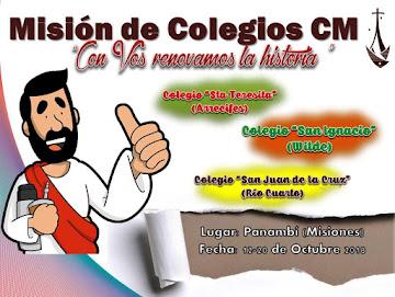 MISIÓN DE COLEGIOS CM 2018
