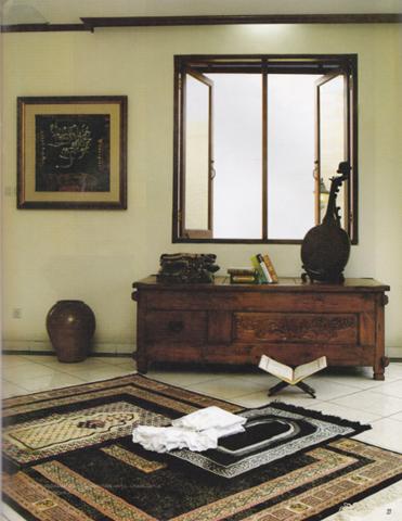 mushola keluarga | model rumah modern