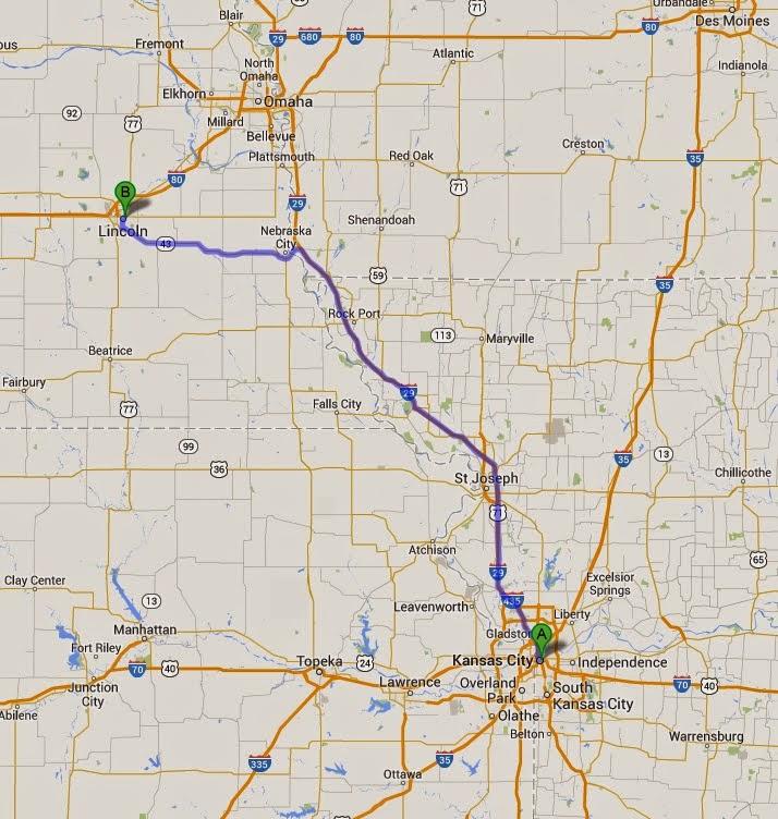 Sunnyvale To Baddeck Day 64 Kansas City Mo To Lincoln Ne