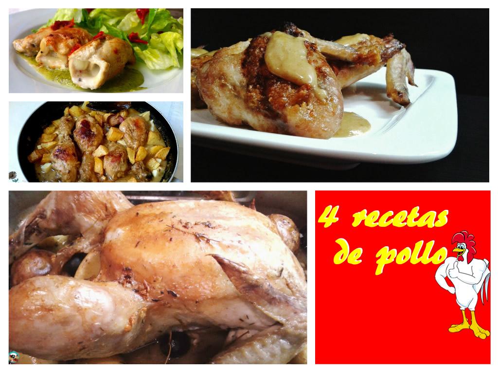 4 manera de preparar pollo for Maneras de preparar pollo
