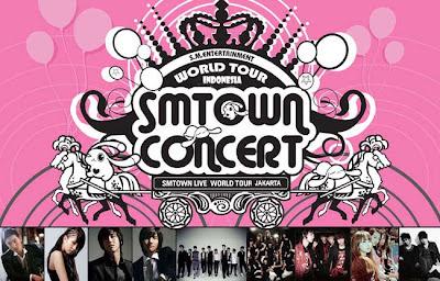 Harga Tiket Konser SM Town di Jakarta 2012