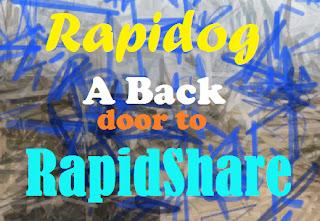 Rapidog a backdoor to rapidshare