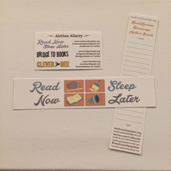 GotPrint Read Now Sleep Later White Bookmarks and Business Cards