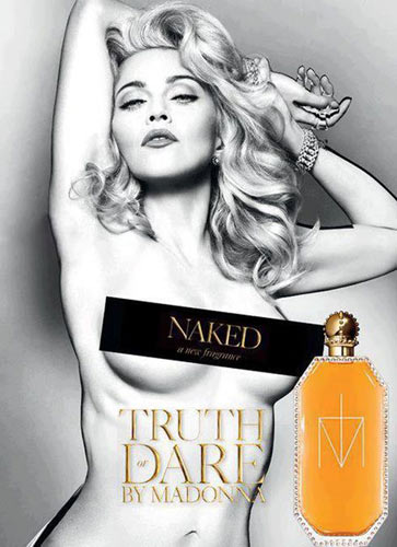 Madonna Truth Or Dare fragrance