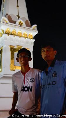 Tugu Jogja with friend