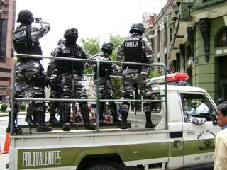 Seguridad en Bolivia