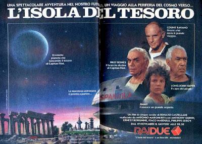 L'isola del tesoro RAI 1987