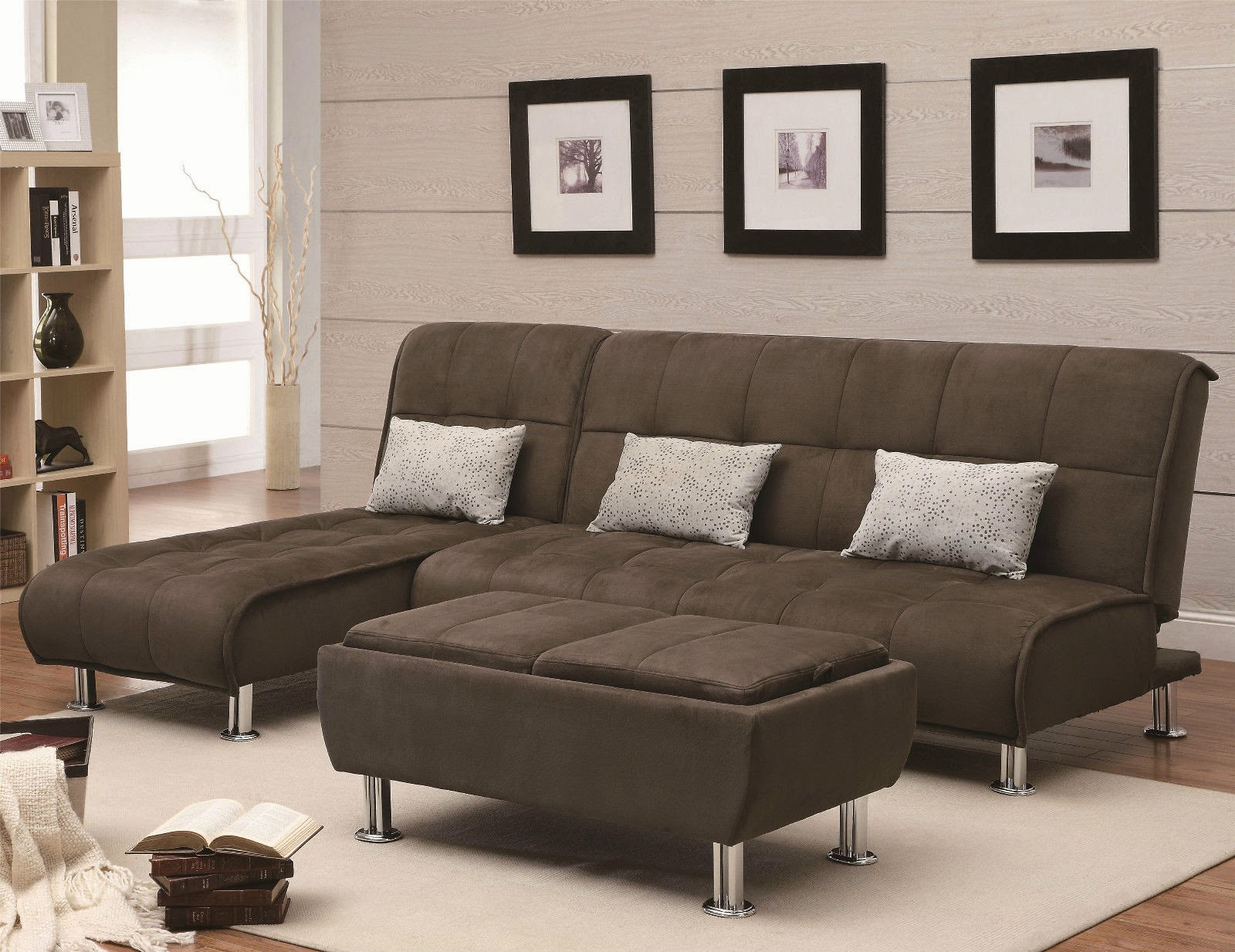 3 Popular Main Colors in Microfiber Sectional Sleeper Sofa
