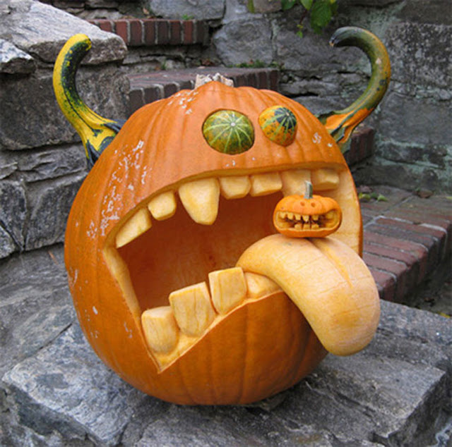 Pumpkin carving ideas for halloween 2017 october 2011 Awesome pumpkin designs