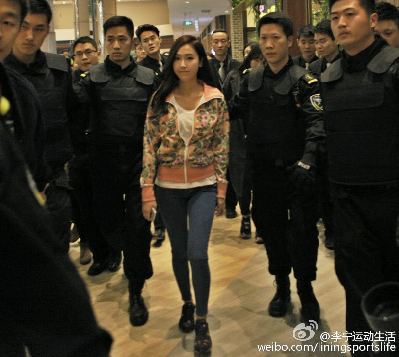 [150125] Jessica para Li-Ning - Fansigning Event 10