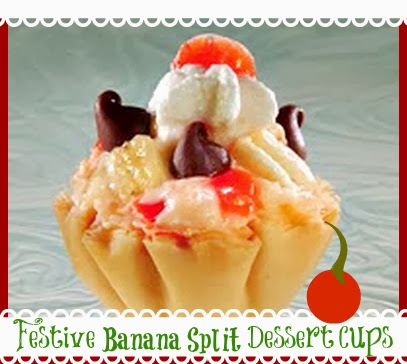 recipes for banana split desserts