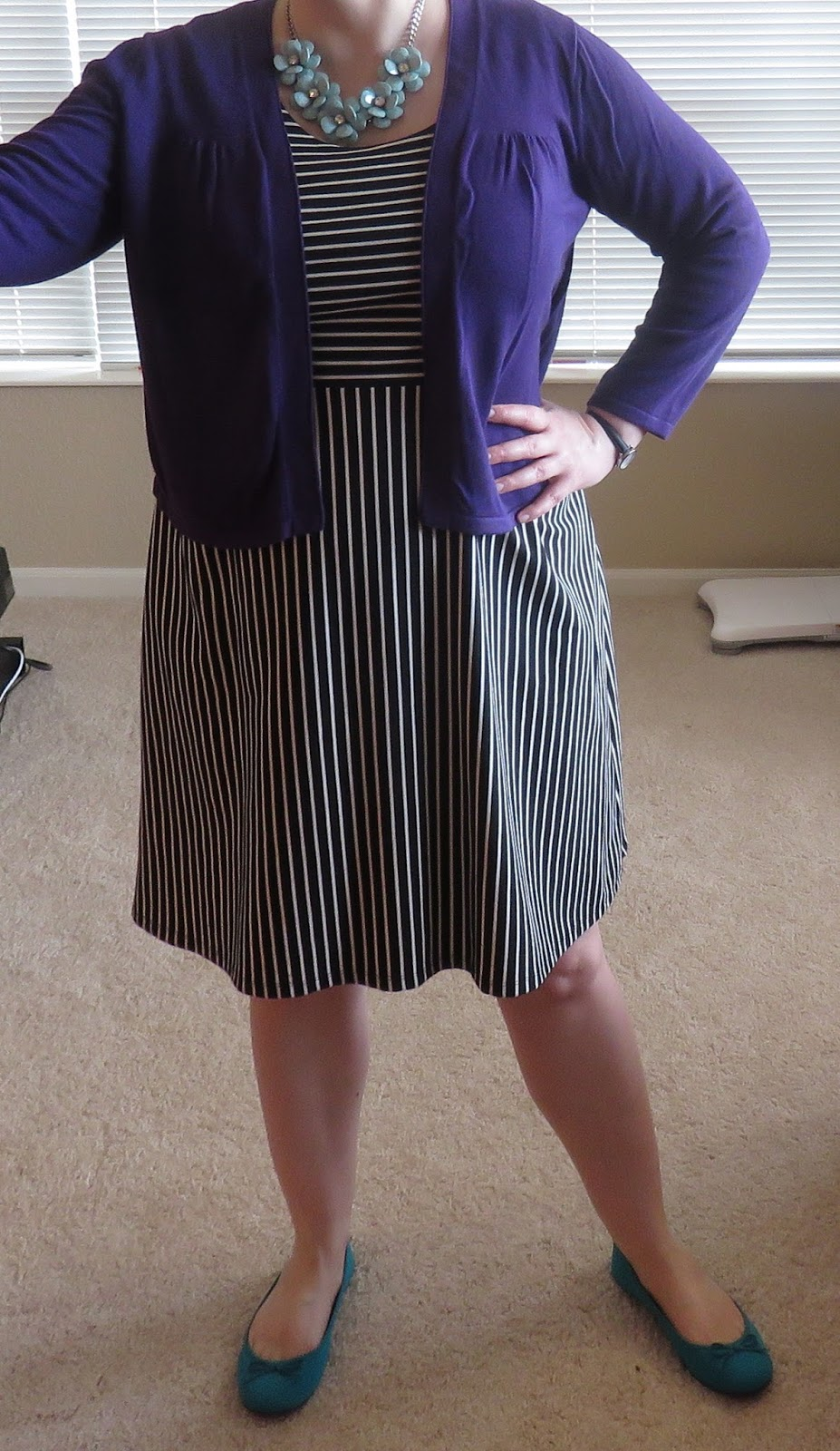 A Striped Dress Is Much More My Style And I Think This Particular One Interesting With The Stripes That Go In Two Different Directions