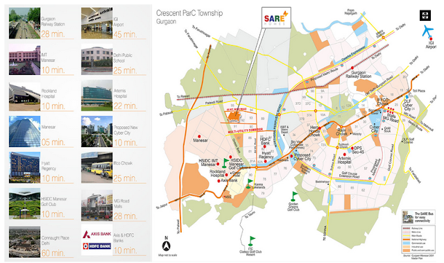 Sare Green Parc 2  Location Map
