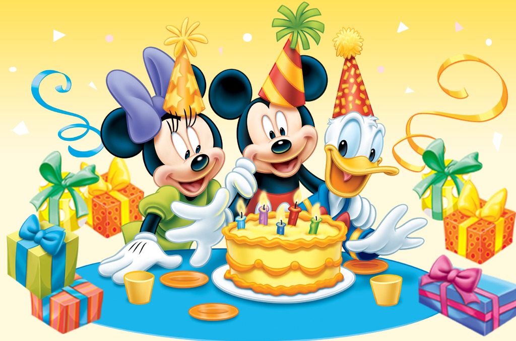 Disney Mickey Mouse Happy Birthday