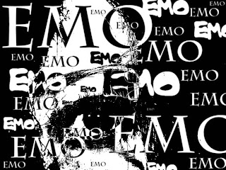EMO Abstract Dark Gothic Wallpaper