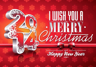 2014-wish you a merry christmas texted wallpaper