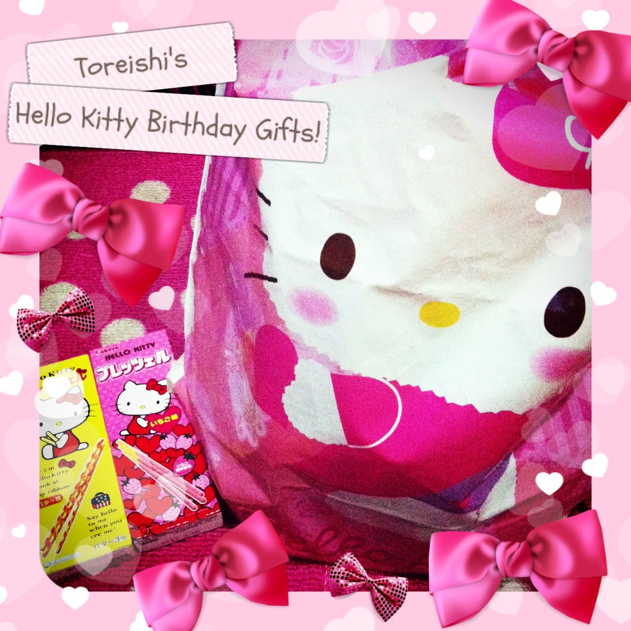The FOXY Lady Thinks Out Loud Happy 38th Birthday Hello Kitty