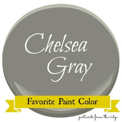 favorite paint color benjamin moore chelsea gray
