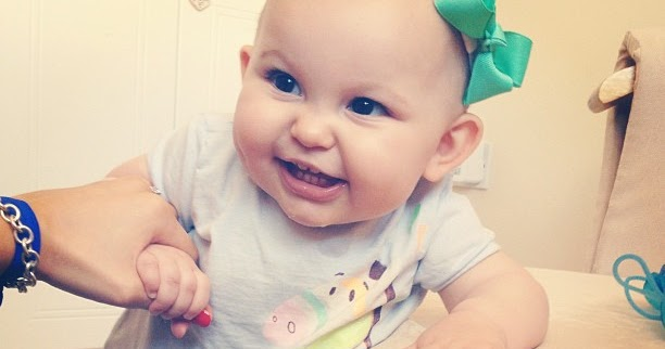 2eed72fa4 Mommy Monday  Emilia s 10 Month Update!