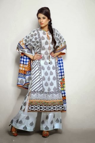 Printed & Embroidered Lawn Dresses