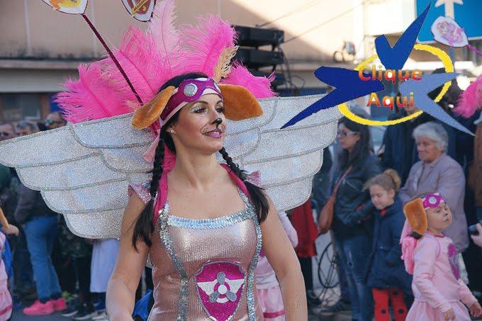 Desfile de Carnaval em Alhos Vedros
